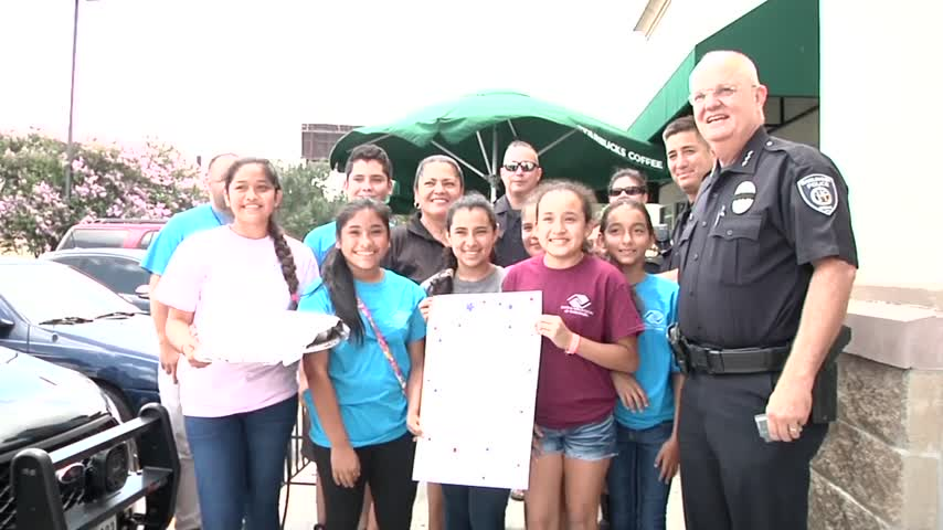 Harlingen PD buys drinks and pastries for Boys - Girls Club_11375656-159532