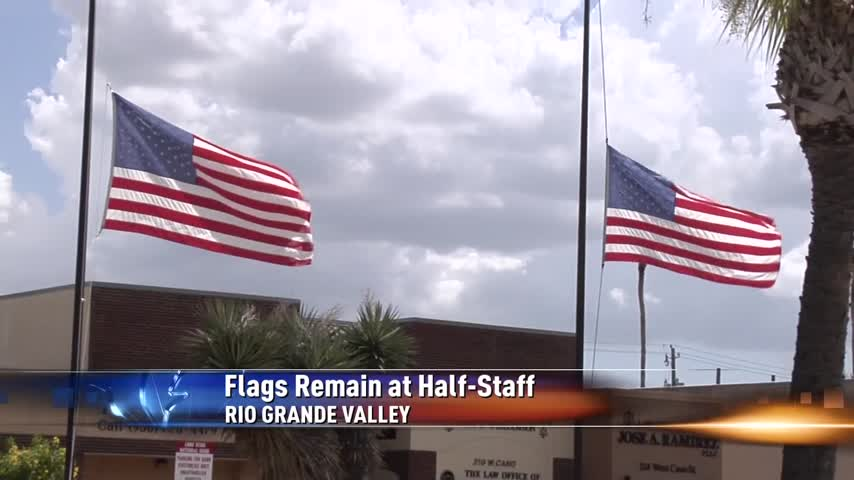 U-S- and Texas Flags to Remain at Half Staff_16272681-159532