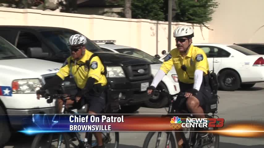 Valley Police Chief on Bike Patrol_18614274-159532