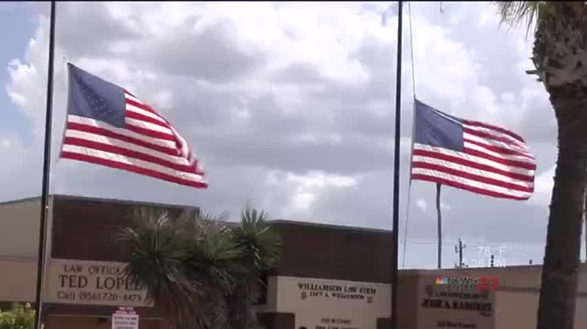 Flags at Half-Staff for Peal Harbor Remembrance Day_09312447