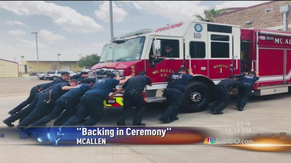 "McAllen ""Backing of the Engine"""