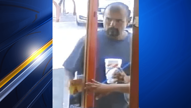 Police Searching For Person Of Interest In Theft Case