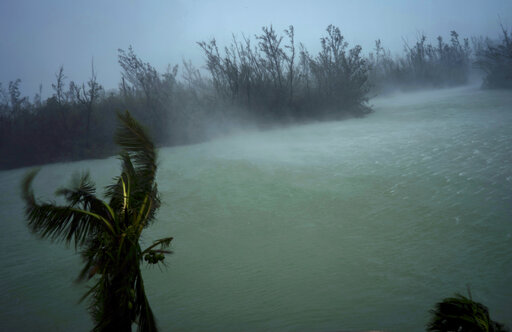 Total devastation': Hurricane slams parts of the Bahamas