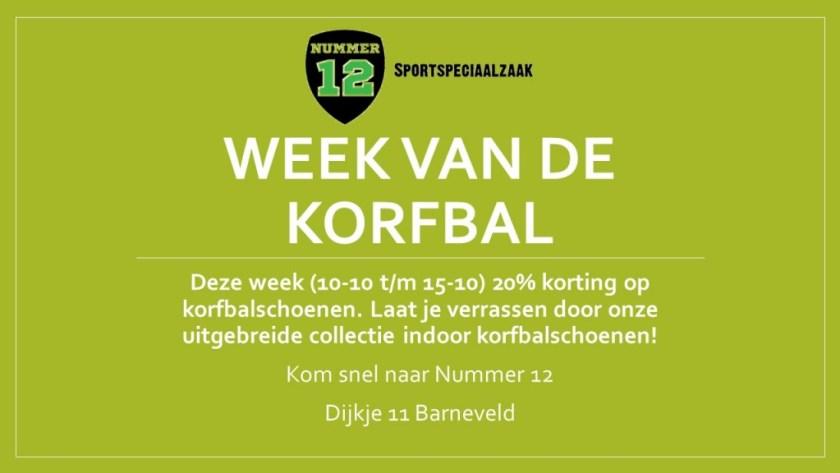 Week van de korfbal 1