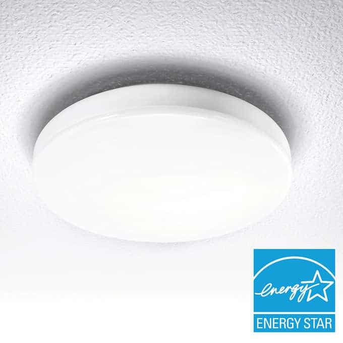 led ceiling fixture review costco