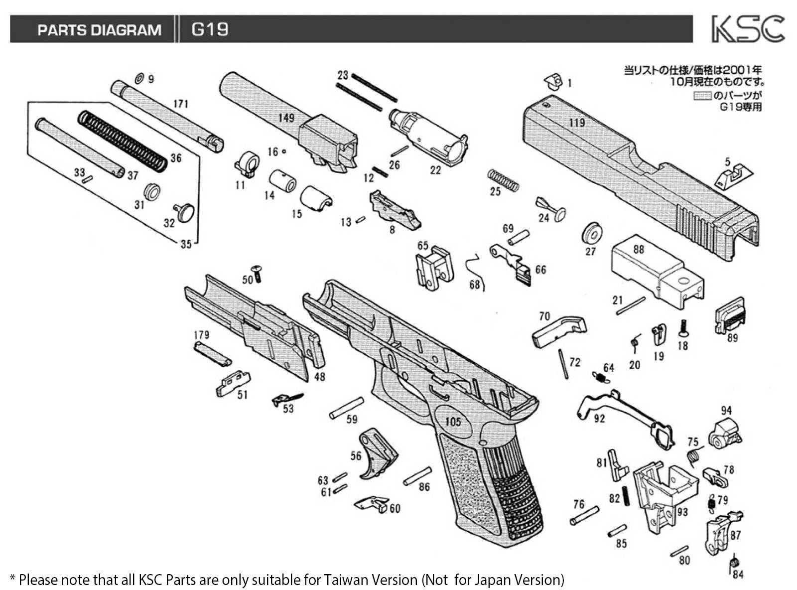 Ruger Blackhawk Parts Diagram