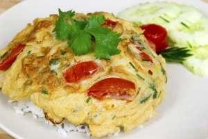 Tortilla tailandesa, tortilla, cocina tailandesa