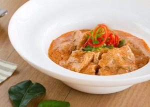 Curry panang con cerdo, curry panang, curry, curry tailandés