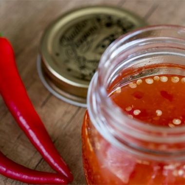 Salsa de chilidulce, salsa tailandesa, cocina tailandesa