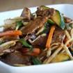 Chop suey de ternera, chop suey receta, cocina china, cocina asiatica