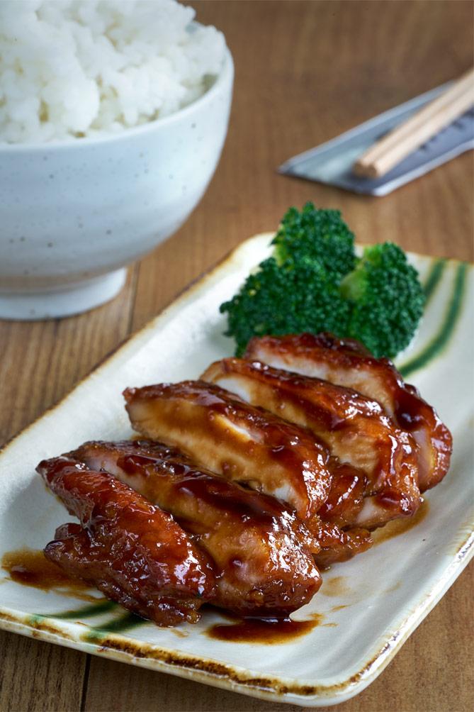 Pollo teriyaki, cocina japonesa,