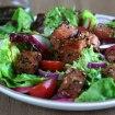 Ensalada asiática, ensalada de salmón, ensalada jaonesa,