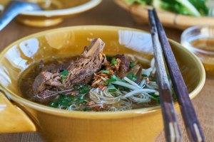 sopa de noodles, sopa de fideos, noodles, sopa pho