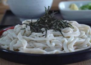 udon, zaru udon, cocina japonesa