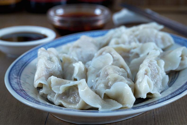 Empanadillas chinas, empanadas chinas, jiaozi, gyoza, Dumpling, dimsum