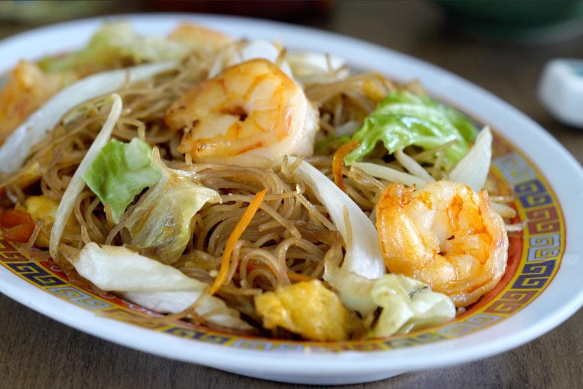 Fideos De Arroz Fritos Estilo Chino Chow Mei Fun Kwan Homsai