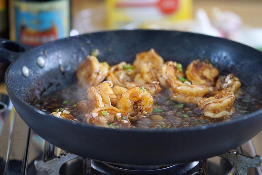 Langostinos en salsa de ostras, gambas en salsa de ostras, recetas de comida china, salsa de ostras, gambas, langostinos, recetas de cocina china, cocina china recetas