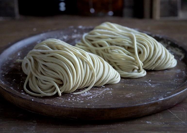 Fideos ramen, Fideos ramen caseros, fideos, noodles, ramen