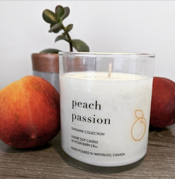 Peach Passion Candle