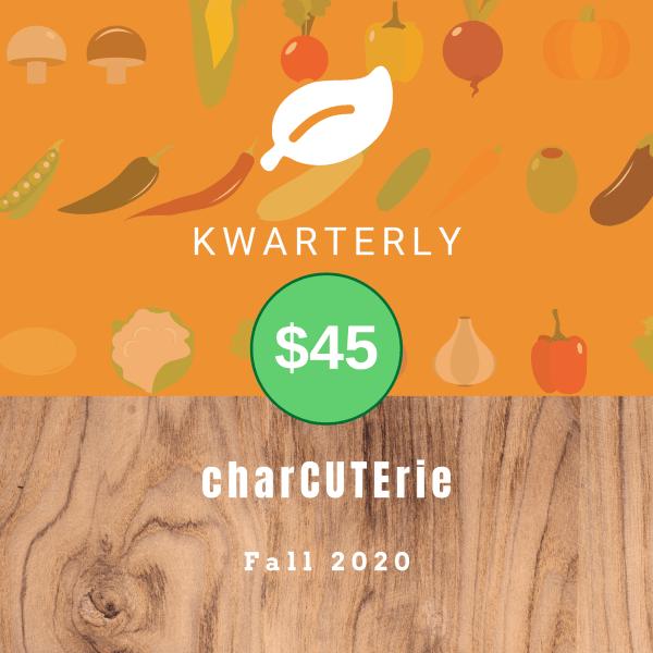 charCUTErie, $45