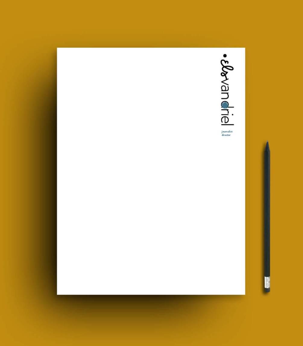 Identiteit en logo Els van Driel