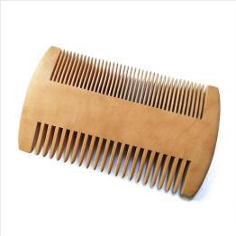 Peigne de cheveux en bois