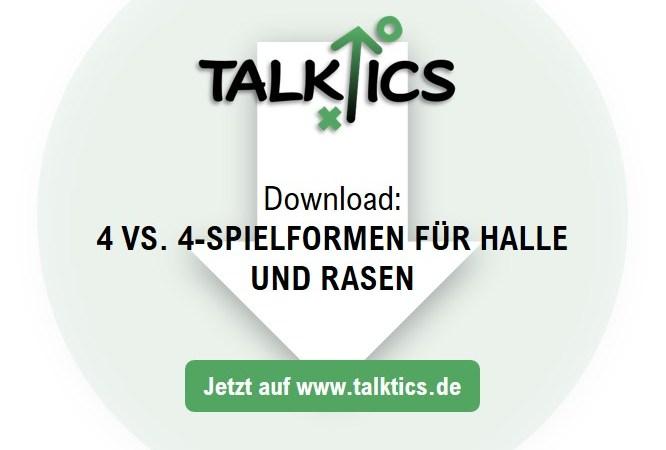 4 vs. 4-Spielformen für Halle und Rasen (Download)