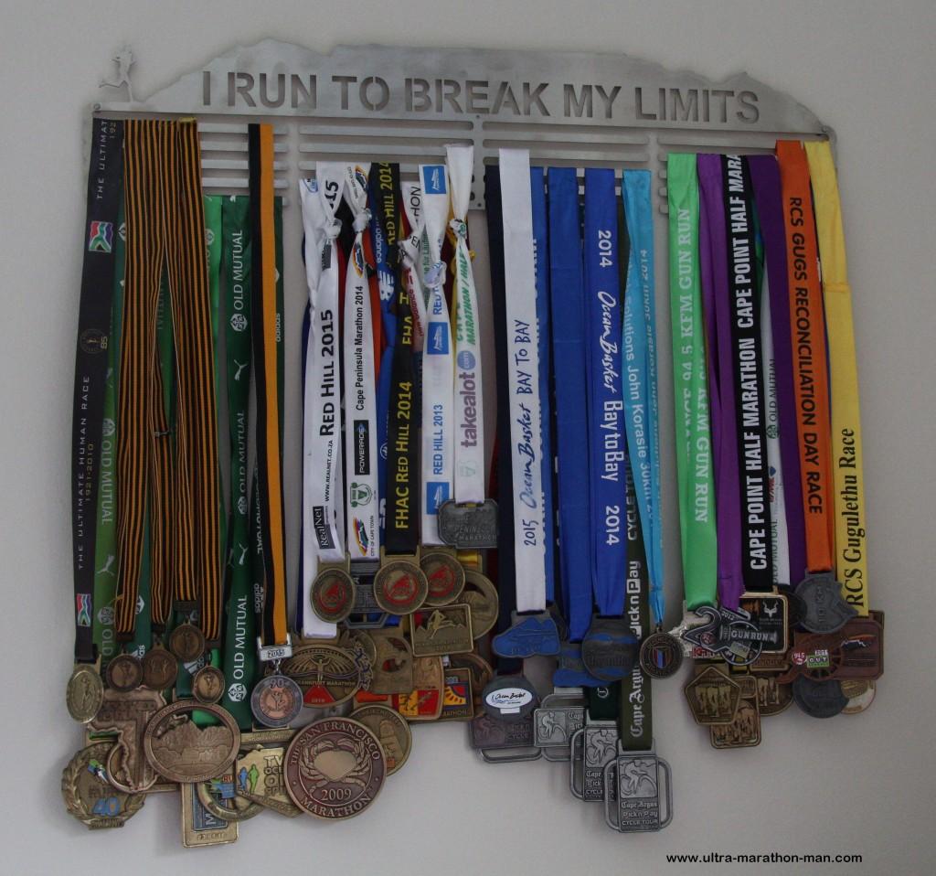 SA Medal Hanger Break Limits 65cm 5 Bars