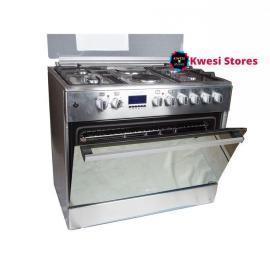Blueflame Electric Cooker Plus Oven E9042FER- NOX – Silver