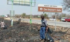 Mmasebudule workers collecting waste outside Madikwe Game Reserve. Madikwe Game Reserve in the North West has set the example when it comes to recycling waste generated in the reserve.