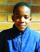 Shaun Mosesane van Laerskool Koedoeskop wat in die o/11 ontwikkelingsspan opgeneem is