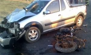 32-Motorfiets ongeluk