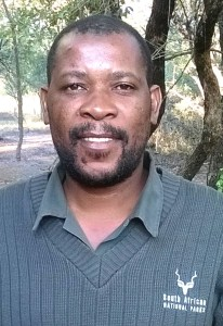 New Park Manager of Marakele National Park, Mr Mphadeni Nthangeni