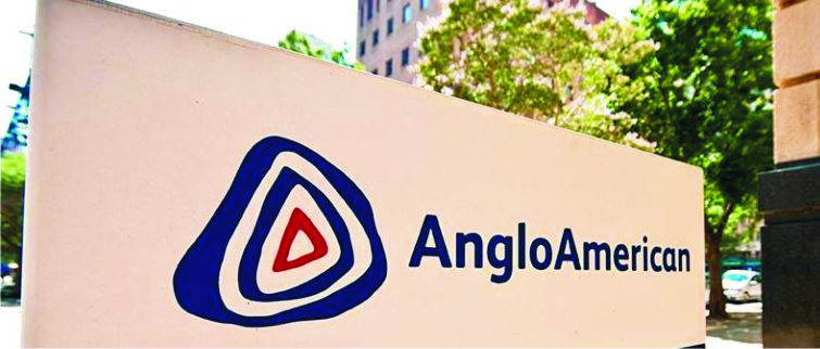 Increase in Anglo's diamond and iron ore output
