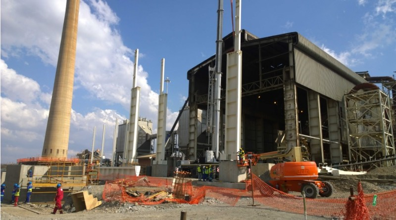 Northam Platinum Smelter construction