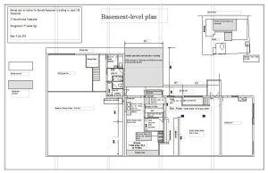 Dewside Basement Level Plan