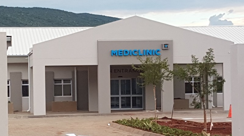 Mediclinic Front of hospital