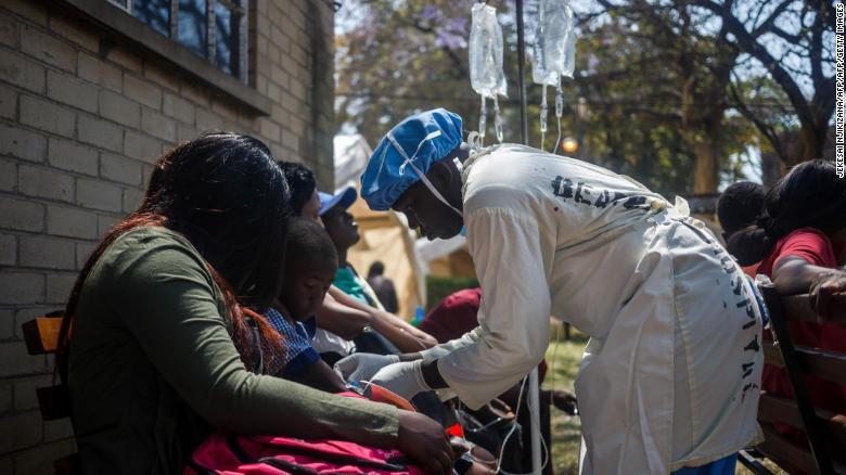 13 Sept Zimbabwe cholera