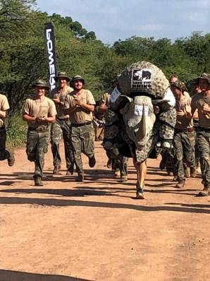 2019 Marakele Marathon foto Save the Rhino Bradley Schroder