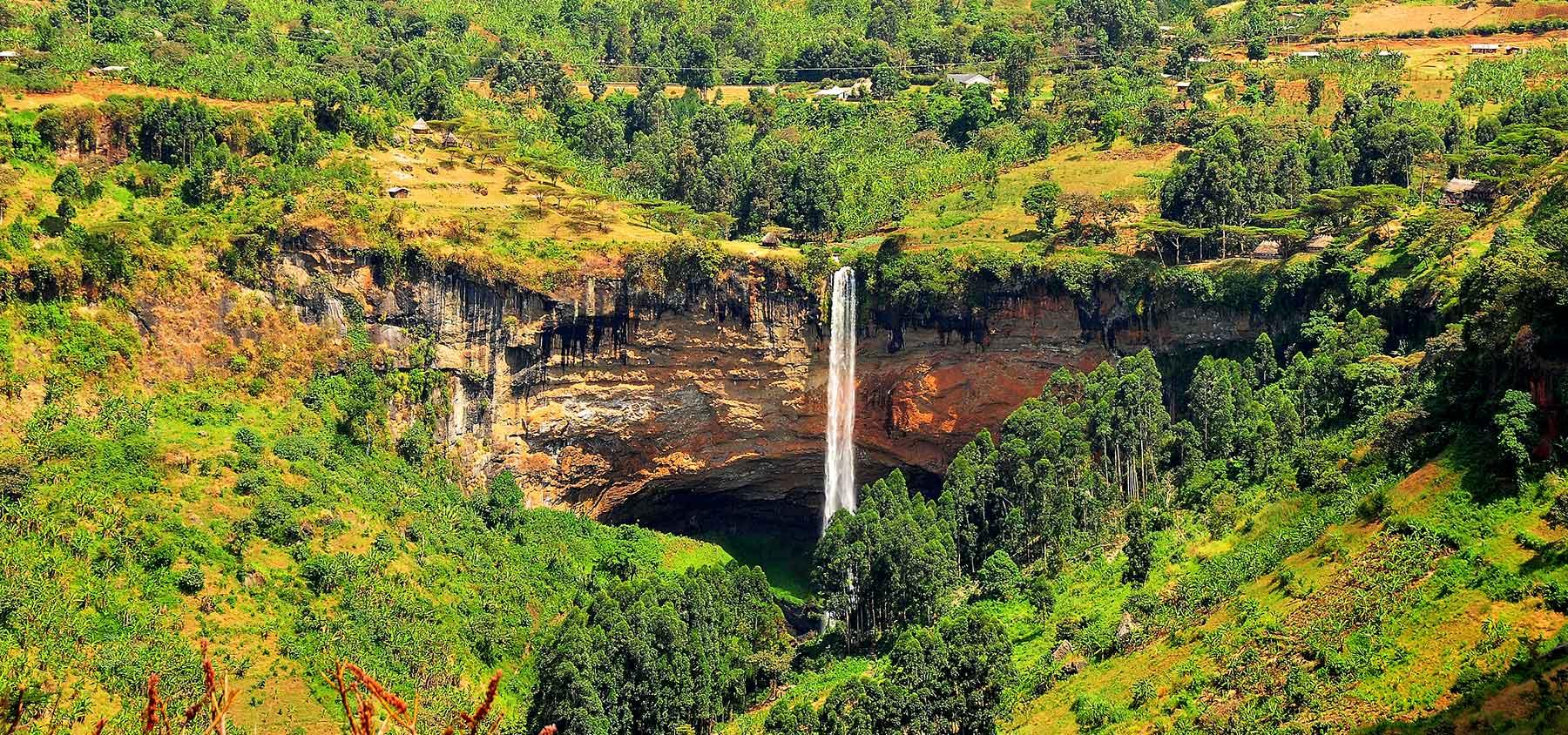 Sipi Falls on Mount Elgon+Uganda+travel_with+Kwez+Outdoors