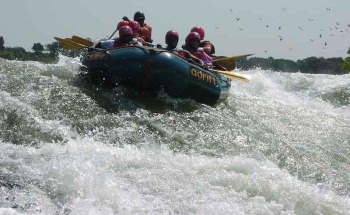 Whitewater rafting on the Nile+Uganda+travel_with+Kwezi+Outdoors