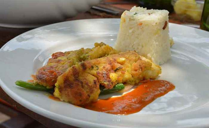 Organic and delicious meals - travel with Kwezi Outdoors