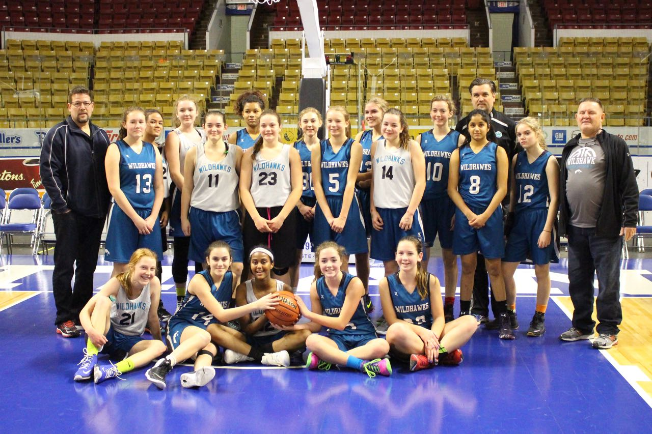 KWGBA Wildhawks Play on KW Titans Court