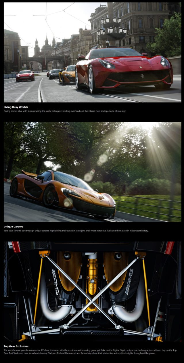 Forza Motorsport 5 Xbox One Racing Game