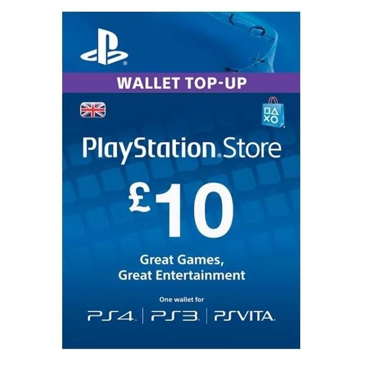 £10 PlayStation UK Store Gift Card [Digital Code]