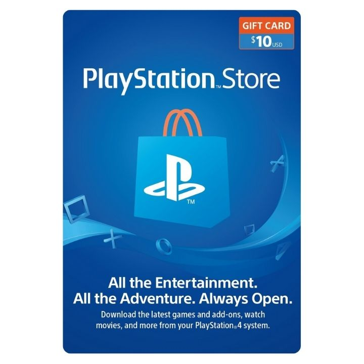 $10 PlayStation US Store Gift Card [Digital Code]