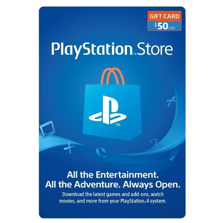 $50 PlayStation US Store Gift Card [Digital Code]