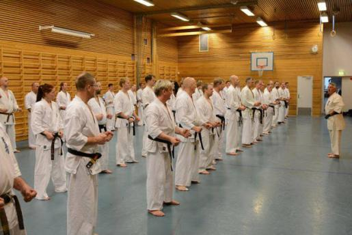 Seminar with Shihan Antonio Pinero Oslo 2016