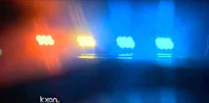 Police lights overnight incident_115853