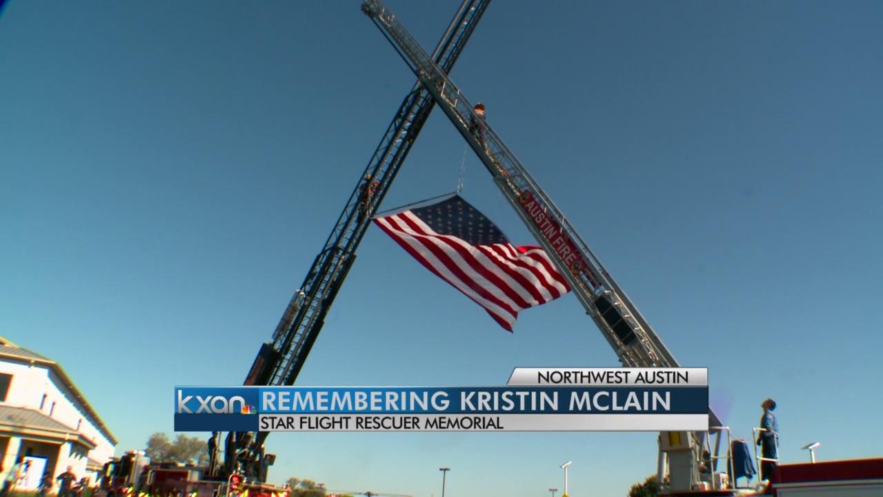 Family and friends remember fallen STAR Flight nurse